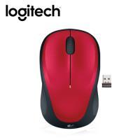 【logitech 羅技】M235 無線滑鼠 紅