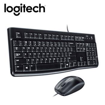 【logitech 羅技】MK120有線鍵鼠組
