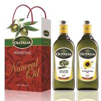 Olitalia奧利塔-綜合油品禮盒 橄欖油+葵花油各1瓶 (1000ml/瓶)