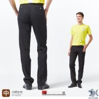 【NST Jeans】【涼夏】Noir黑 涼感纖維x彈性纖維 休閒直筒長褲(中腰) 390(5666)