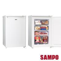SAMPO聲寶87L直立式冷凍櫃冷凍櫃 SRF-90S