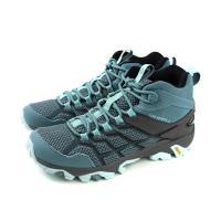 MERRELL MOAB FST 2 MID GTX 運動鞋 多功能鞋 藍綠色 女鞋 ML49182 no009
