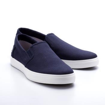 Timberland男款海軍藍正絨面皮革Slip-on休閒鞋A1XA5019
