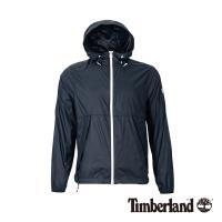 Timberland男款藍色輕量防曬收納外套A1OLG433
