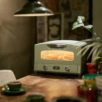 日本Sengoku Aladdin 千石阿拉丁 復古多用途烤箱(內附烤盤)-(綠色)