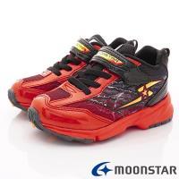 MOONSTAR-日本月星頂級競速童鞋 3E閃電系列 SSJ8862紅(中大童段)