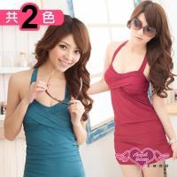 天使霓裳 泳衣 夏威夷之戀 一件式素色連身泳裝(共2色M~XL) SQ3023