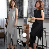 韓國K.W.  魔法愛情流線法式不規則套裝