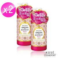 【日本 KOSE 高絲】幸福花浴莓果柔膚沐浴乳500ml x 2入組