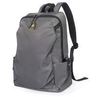 【男包】TANGCOOL大前袋雙拉鏈後背包 電腦包 商旅兩用包/精英灰