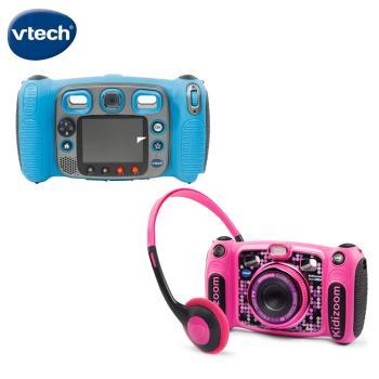 【Vtech】多功能兒童MP3遊戲相機-2色可選