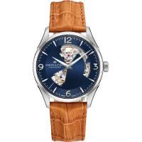 Hamilton 漢米爾頓 JAZZMASTER 爵士開心機械錶-藍x卡其色/42mm H32705541