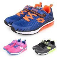 LOTTO 男女童疾風KPU氣墊跑鞋-慢跑 路跑 童鞋
