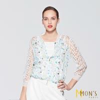 MONS歐系精品蕾絲造型外套