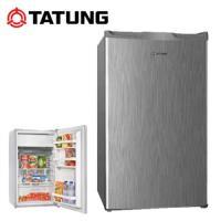 TATUNG大同 100L 台灣製單門冰箱 TR-100HNW 銀灰色