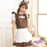 天使霓裳 角色扮演 甜心惡魔 女僕管家派對表演服(咖啡F) QF2063
