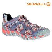 MERRELL 女 水陸兩棲運動鞋ML37550【淺灰/紅】 WATER PRO MAIPO / 城市綠洲