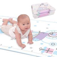 嬰兒隔尿墊 牛奶絲防水可洗新生寶寶防尿墊兒童床墊-2件入