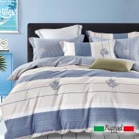 Raphael拉斐爾 往日時光 純棉加大四件式床包兩用被套組