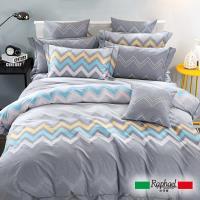 Raphael拉斐爾 日常 純棉雙人四件式床包兩用被套組