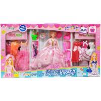【孩子國】綺妮夢幻公主換裝芭比娃娃(ST安全玩具)