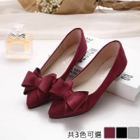 Alice (預購) 韓名媛唯美純淨尖頭平底鞋