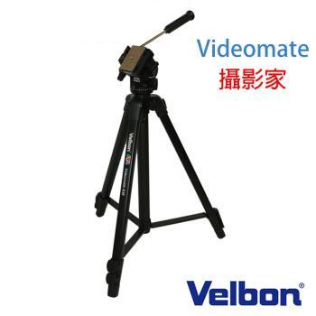 Velbon videomate 攝影家 638 錄影 油壓 單手把 把手 三腳架(附腳架袋 代理商公司貨)直播 紅外線熱像儀 體溫偵測儀 架設