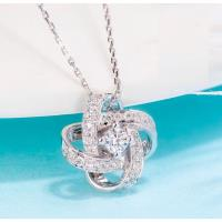 【光彩珠寶】18K金鑽石項鍊 繁星