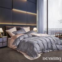 BEDDING-正60支天絲特大雙人八件式兩用被床罩組-芳茵