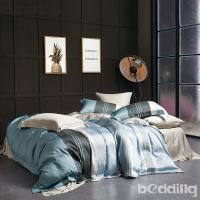 BEDDING-正60支天絲雙人八件式兩用被床罩組-尼蒂羅