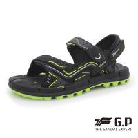 G.P 透氣舒適磁扣兩用涼拖鞋G9254-綠色(SIZE:37-44 共三色)
