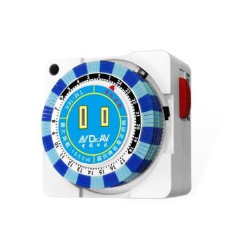 Dr.AV 24小時多段定時器(TM-16A)/2入