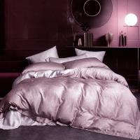 FITNESS 100%純天絲頂級60S雙人七件式床罩組-碎納斯