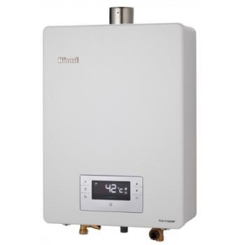 (全省安裝)林內16公升數位恆溫強制排氣可外接BC-20有線遙控(與RUA-C1620WF同款)熱水器RUA-C1620WF