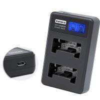 Kamera佳美能 液晶雙槽充電器 for Fujifilm 富士 NP-45/NP45 (一次充兩顆電池)