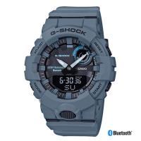 CASIO 卡西歐 G-SHOCK藍牙連線運動錶-迷霧藍(GBA-800UC-2A)