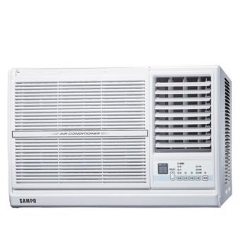 加贈安裝保固1年★SAMPO 二級能效 聲寶變頻窗型冷氣5坪AW-PC36D右吹