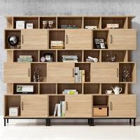 【時尚屋】[MX9]波頓7.9尺書櫃組MX9-012*3免運費/免組裝/書櫃組