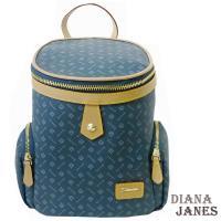 包Diana Janes 黛安娜-晶鑽 LOGO後揹水桶包揹水桶包