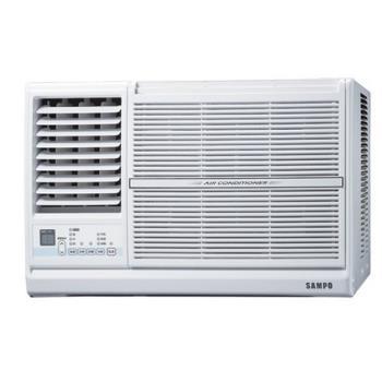 加贈安裝保固1年★SAMPO聲寶定頻窗型冷氣4坪AW-PC28L左吹