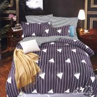 BUTTERFLY-台製柔絲絨單人薄式床包枕套二件式-藝術生活