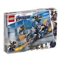 LEGO樂高積木 - SUPER HEROES 超級英雄系列 -76123Captain America: Outriders Attack