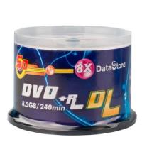 DataStone 精選日本版 DVD+R 8X DL 燒錄片 (50片)