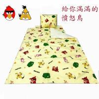 憤怒鳥Angry Bird 三件式睡墊 涼被 童枕