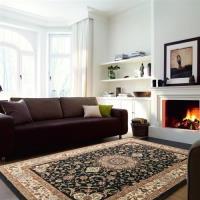 山德力Luxury Deco 古典羊毛地毯-繁星黑200x290cm