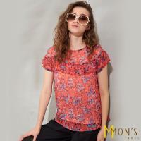 MONS歐系名品頂級100%蠶絲上衣