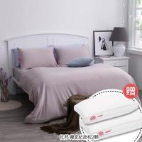 美國 杜邦™ ComforMax™機能性床包組 - 雙人加大/療癒灰 贈:杜邦獨家紀念款枕/2入