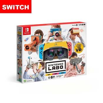 【Nintendo 任天堂】Switch 實驗室Labo Toy-Con 04 VR 組合套裝(中文版)