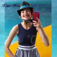 沙麗品牌 時尚流行大女連身裙泳裝 NO.19124