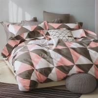 皇家風朝 雙人純棉四件式二用被床包組